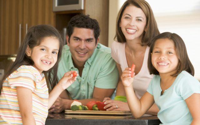 familia alimentación saludable