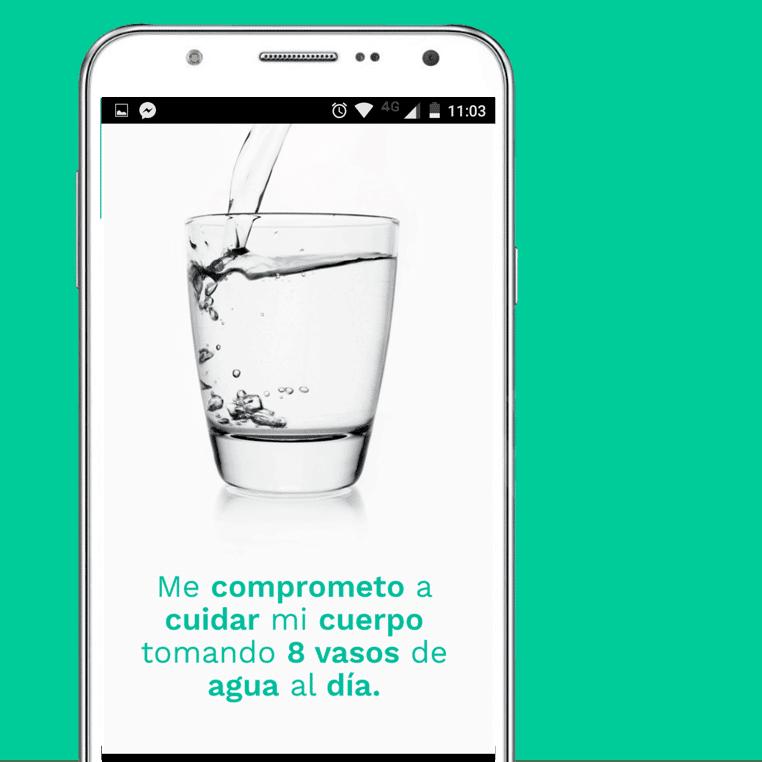 agua cuadrado