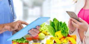 App y software para nutriólogos monitor nutricional