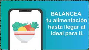app dieta balanceada personal